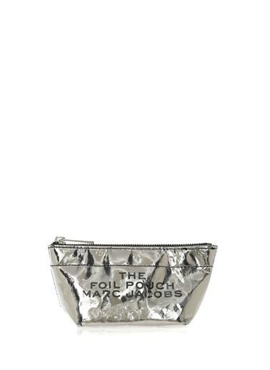 Marc Jacobs Makyaj Çantası Gümüş